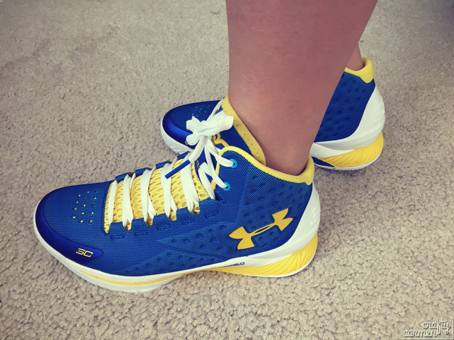 Under Armour's Curry One | craftycarmen
