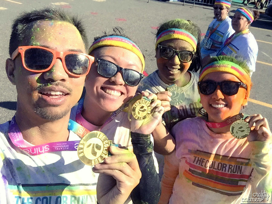 The Color Run | craftycarmen