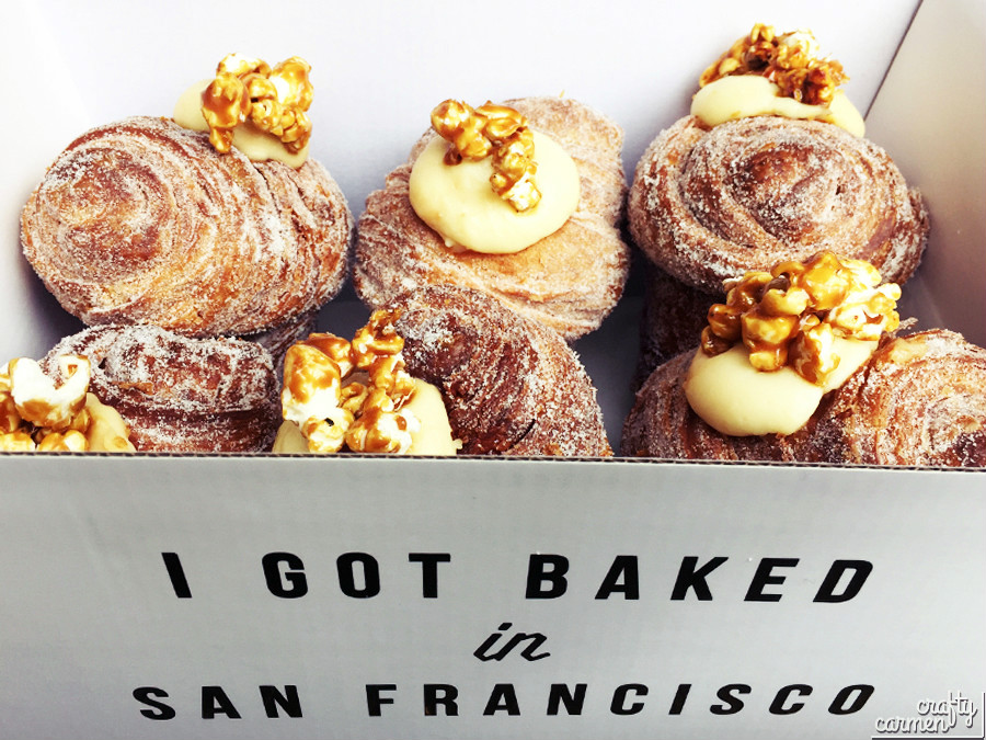 Caramel Popcorn Cruffins from Mr. Holmes Bakehouse