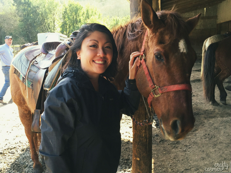 Horseback Riding at Five Brooks Trail | craftycarmen