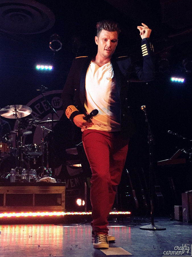 Nick Carter: All American Tour 2016 in Sacramento, CA | craftycarmen