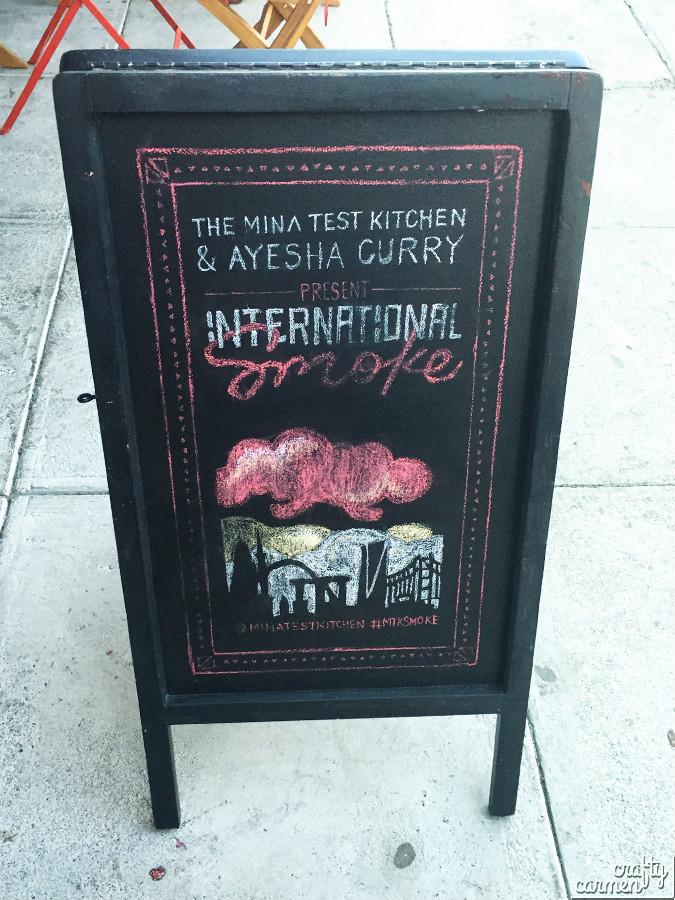 The Mina Test Kitchen & Ayesha Curry - International Smoke | craftycarmen