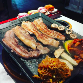 8 FLAVORS OF PORK BELLY SET - Eight Korean BBQ • Los Angeles, CA