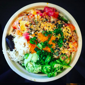 POKE BOWL - Go Fish Poke Bar • San Jose, CA
