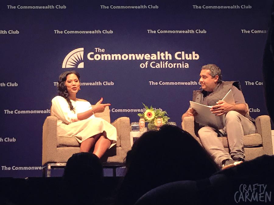 Ayesha Curry and Michael Mina | craftycarmen