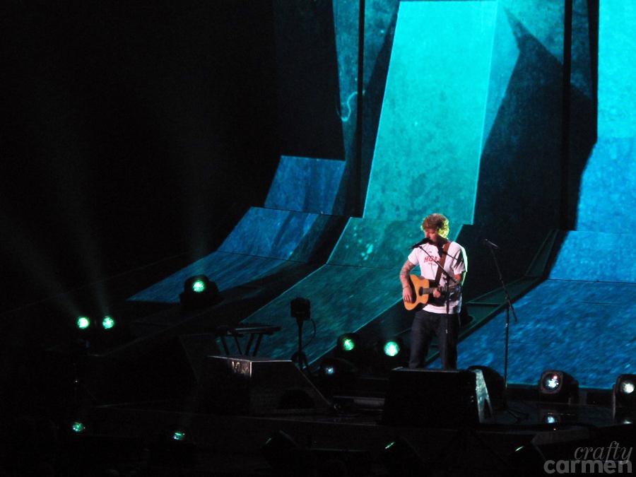 Ed Sheeran's ÷ Tour in Oakland, CA | craftycarmen