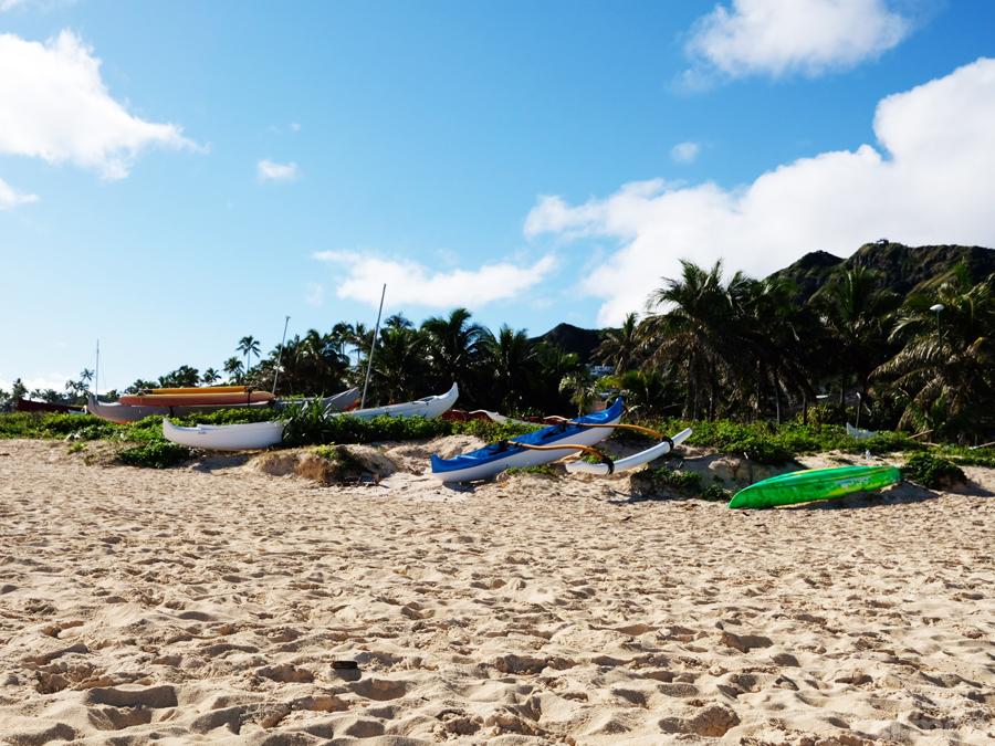 Lanikai Beach in Kailua, HI | craftycarmen