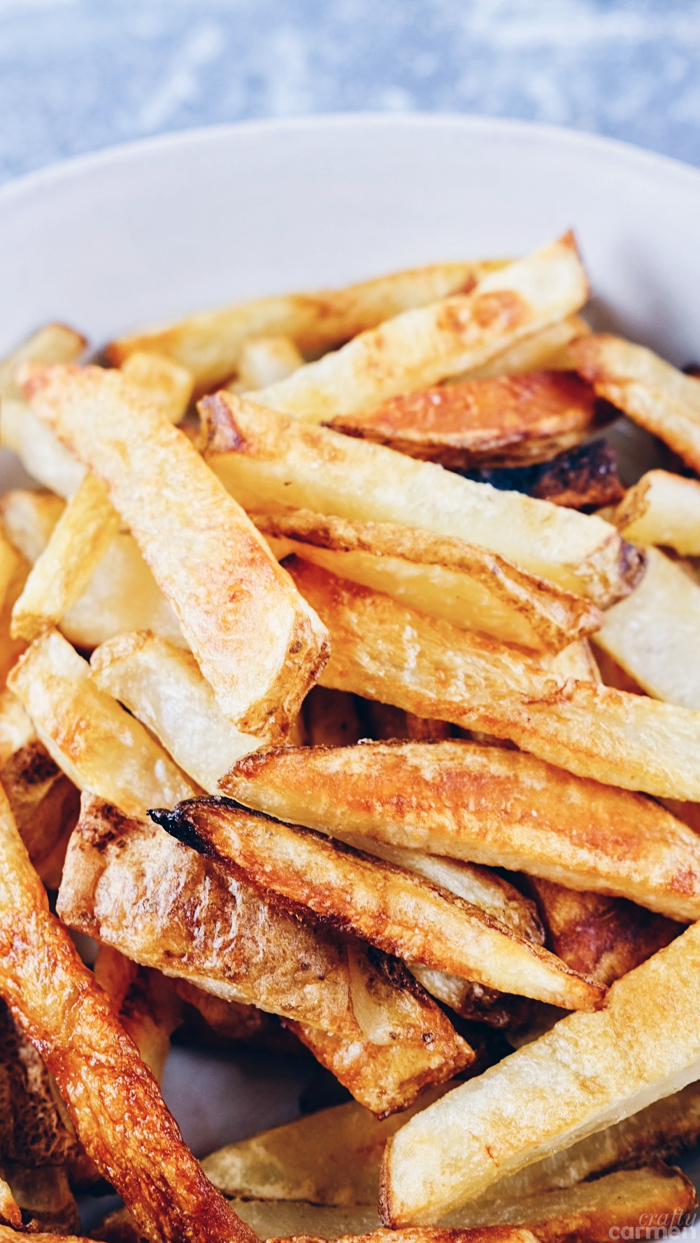 SALT-&-VINEGARBAKED FRIES -