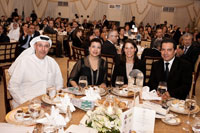 Katherine Quinn attends fundraiser in Abu Dhabi