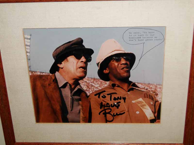 Anthony Quinn and Dr. Bill Cosby