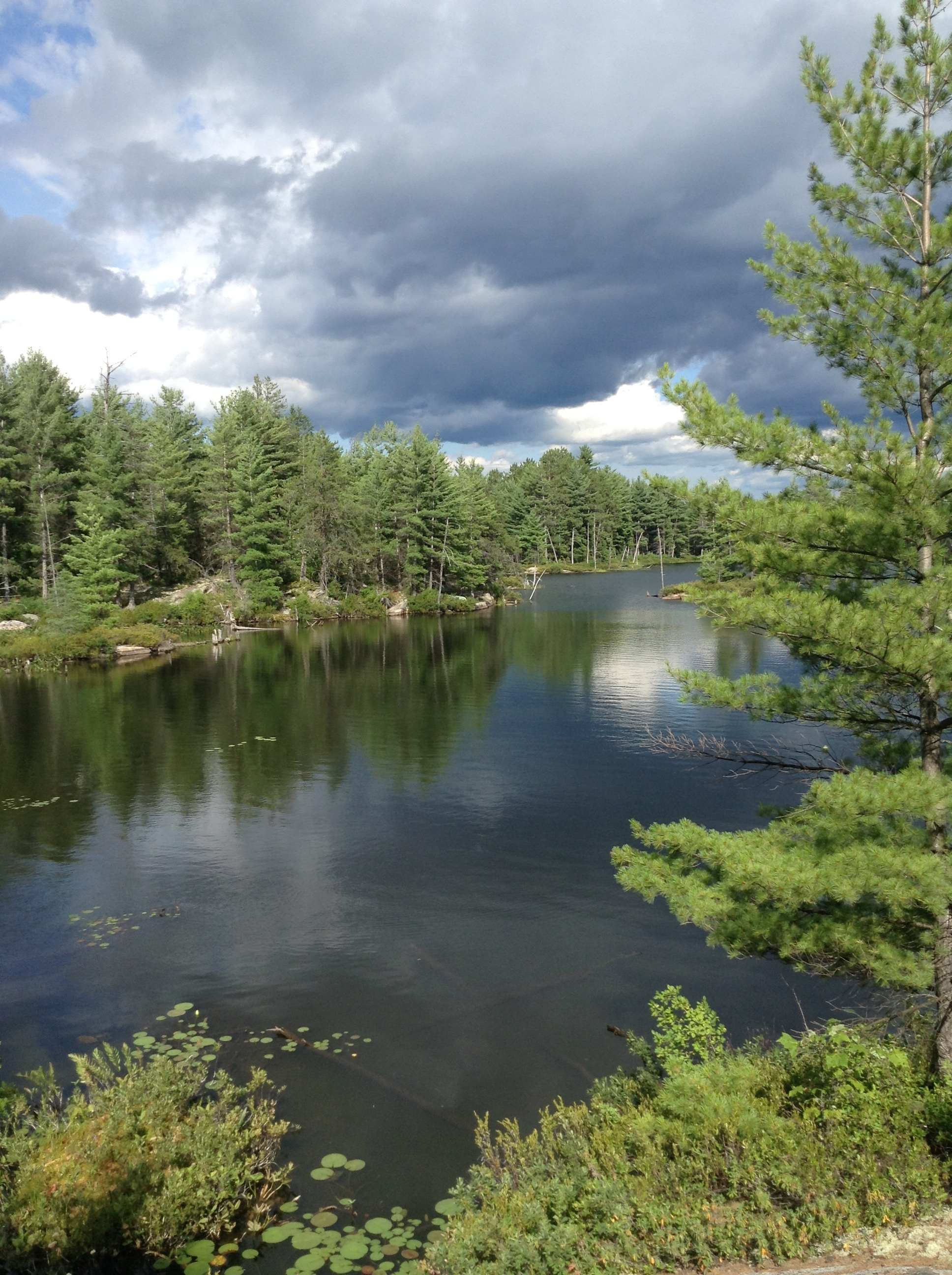 Hikking in French River