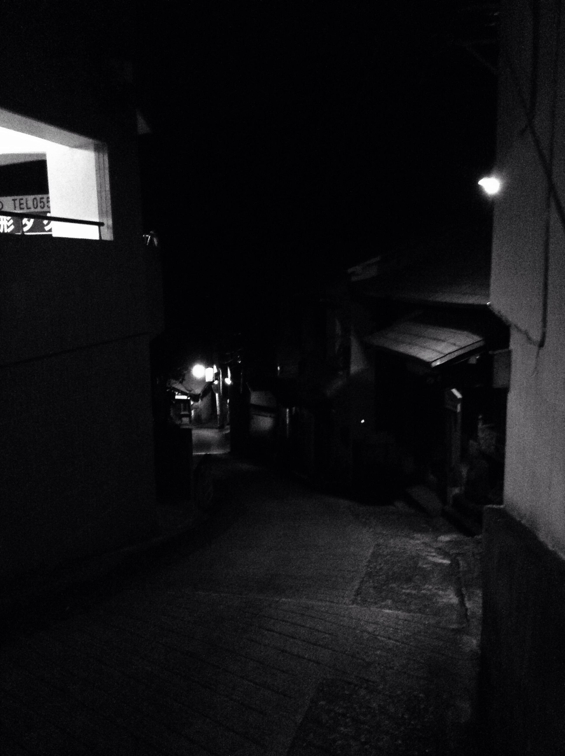 Night street of Atami