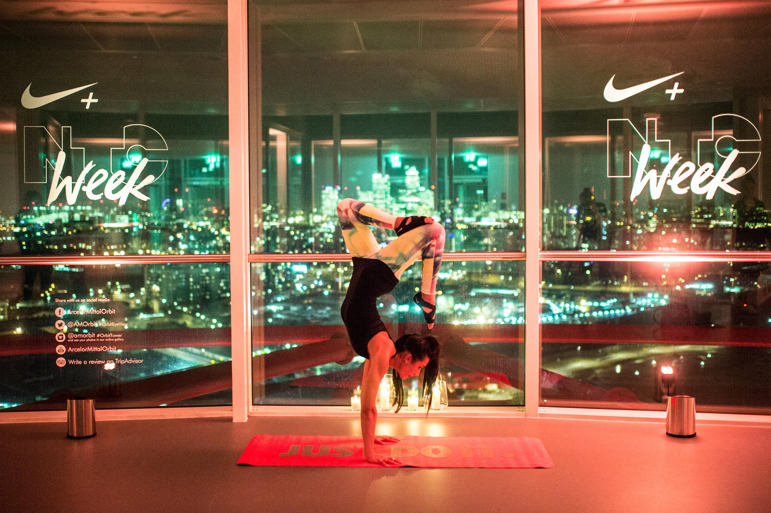 Jessica Skye Yoga Nike Training Club Week The Orbit