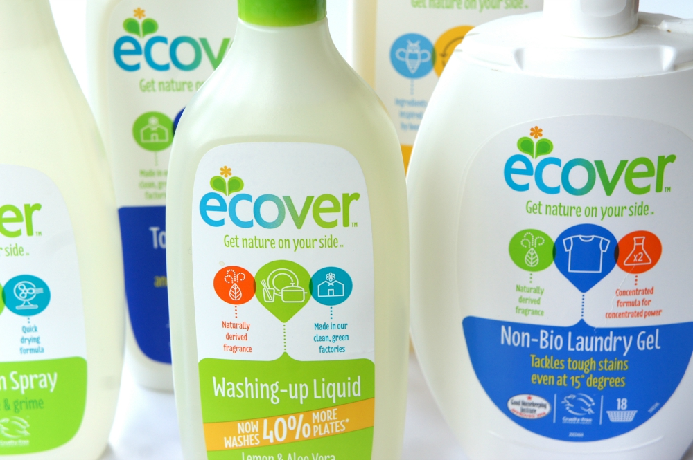 Ecover Cleaning Products Brand Detox