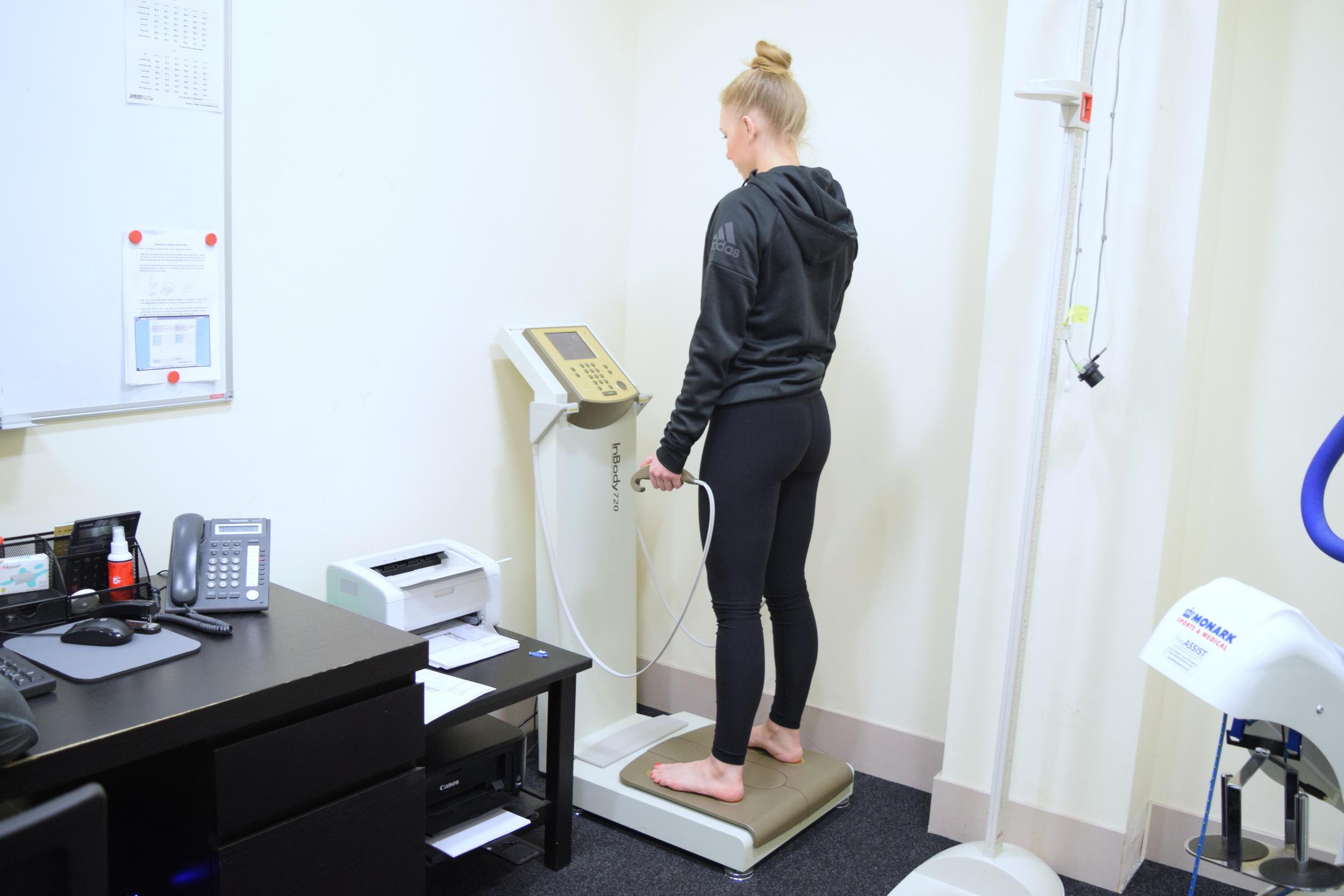 Speedflex Induction Body Composition Analysis