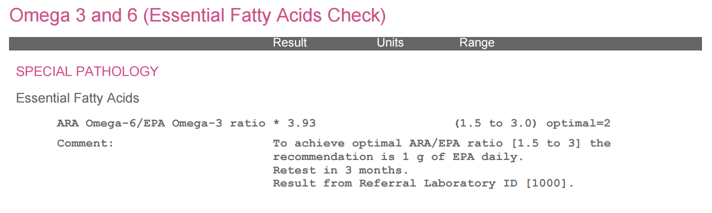 Medichecks-Omega-3-6-essential-fatty-acid-test-results