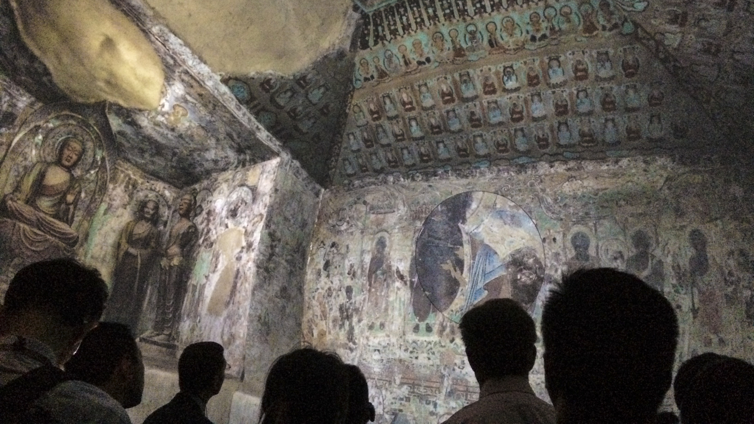 Cave 220 from the Dunhuang Mogao Grottoes,a virtual replica