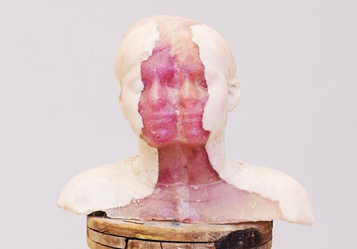 Two Minds  (2015) - plaster, epoxy, and fiberglass