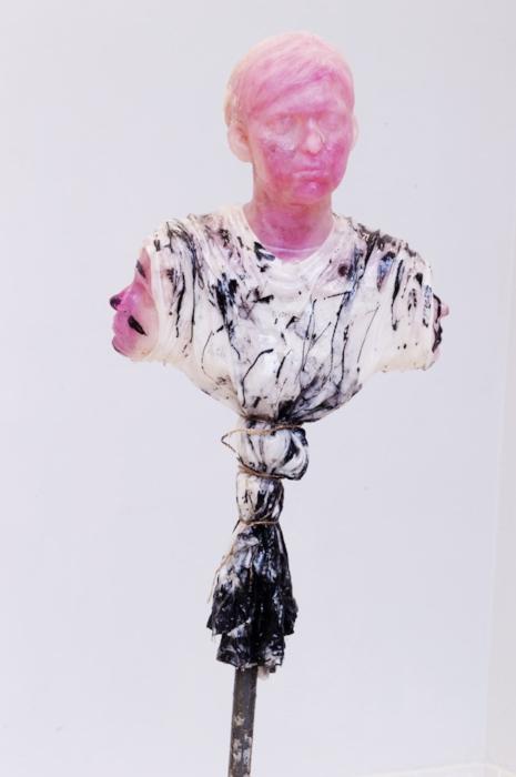 3 from Heads  (2015) - fiberglass, epoxy, and plaster