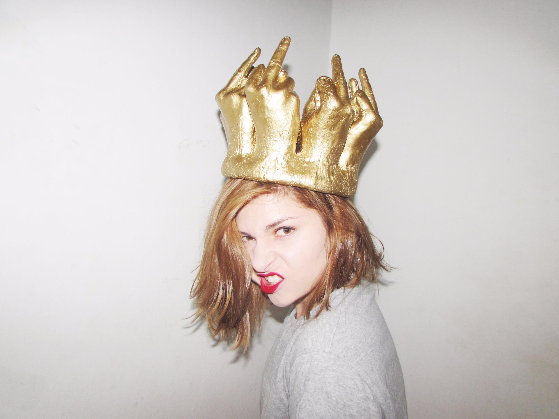 Crown  (2014) - fiberglass and epoxy