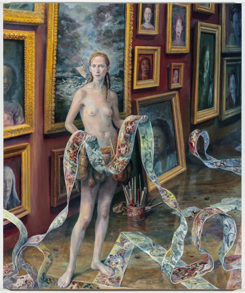 Self-Portrait with Shipwreck