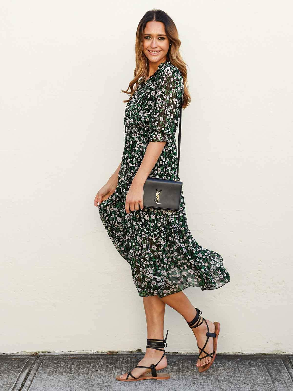 Swiish Pretty Perfection Floral Dress