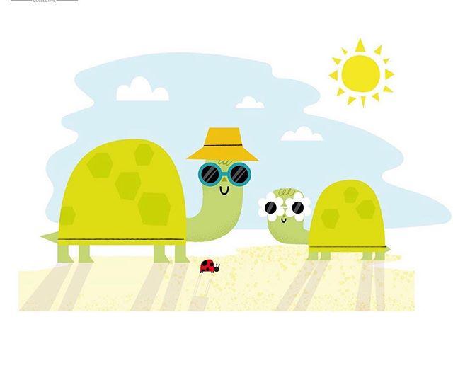 Check out @thecolourcoop for more turtles on #nationalturtleday 🐢 #kidsdesigner #kidsillustration #kidsbookillustration #turtles #colourcoop #cutedesigns #characterdesign #characterillustration