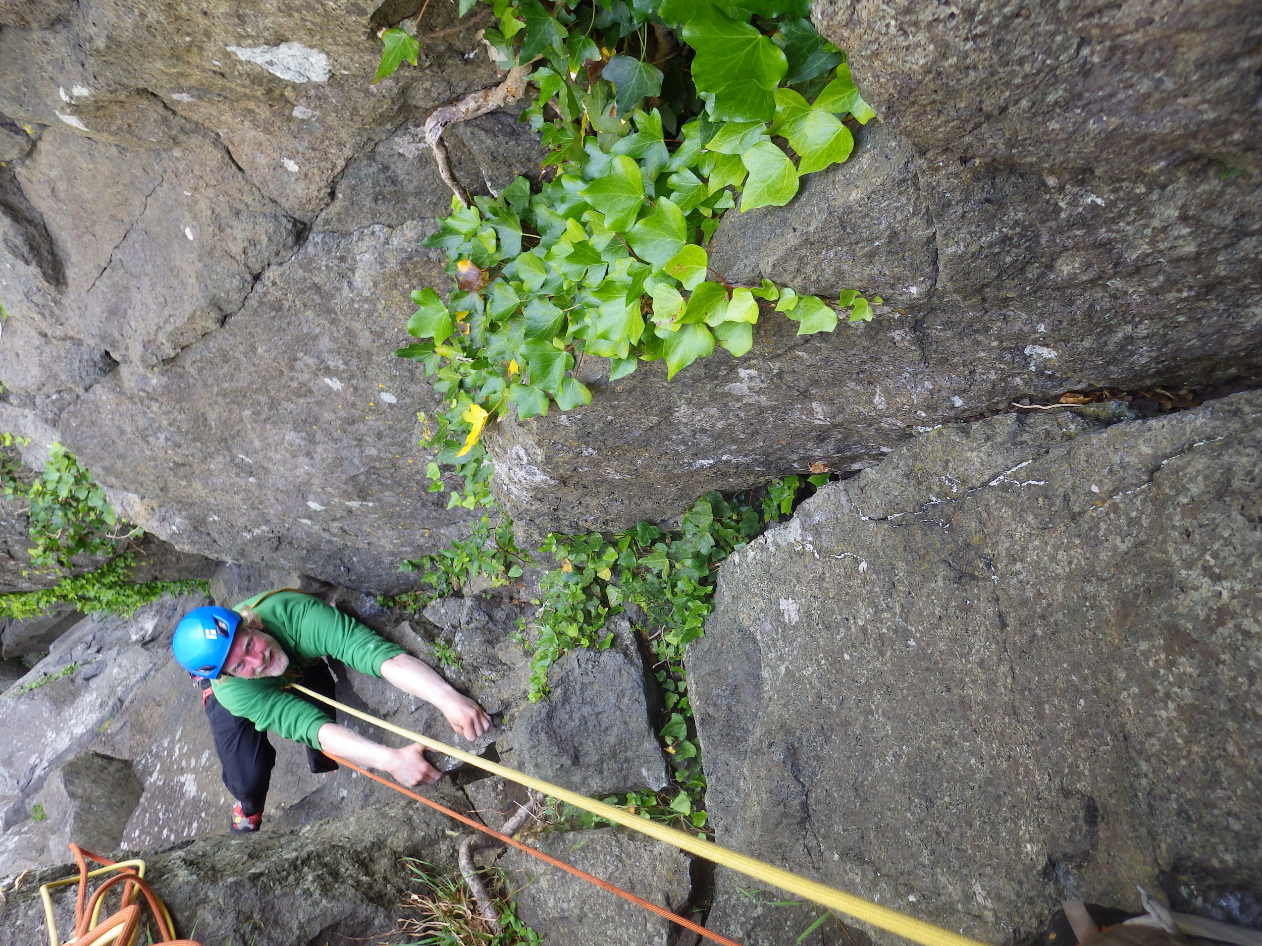 Shadrach, VS 5a, Tremadog, North Wales