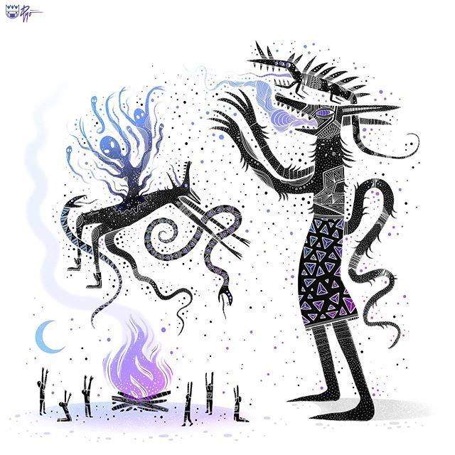 Detox.☠️ . . . #witchythings #horrorart  #lowbrowart #darkartist #darkart #lowbrowartist #brutsubmission #brooklynsnobs