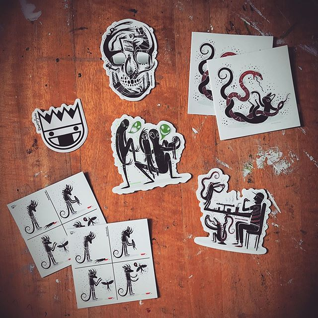 $tüff. . . . #stickers #slaps #darkartist #darkart #lowbrowartist #stickerlife #brutsubmission #brooklynsnobs