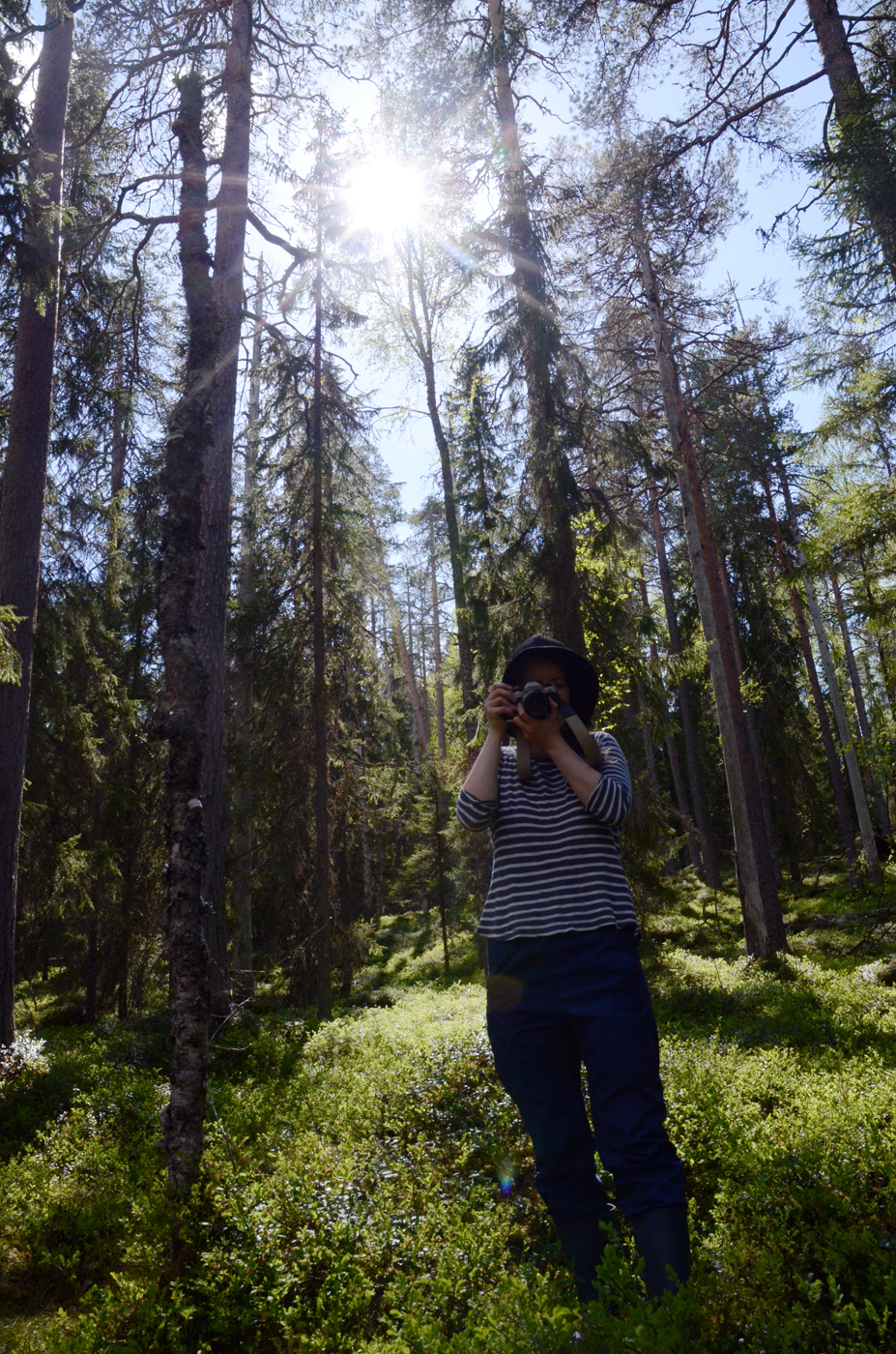 Our photographer Isla.