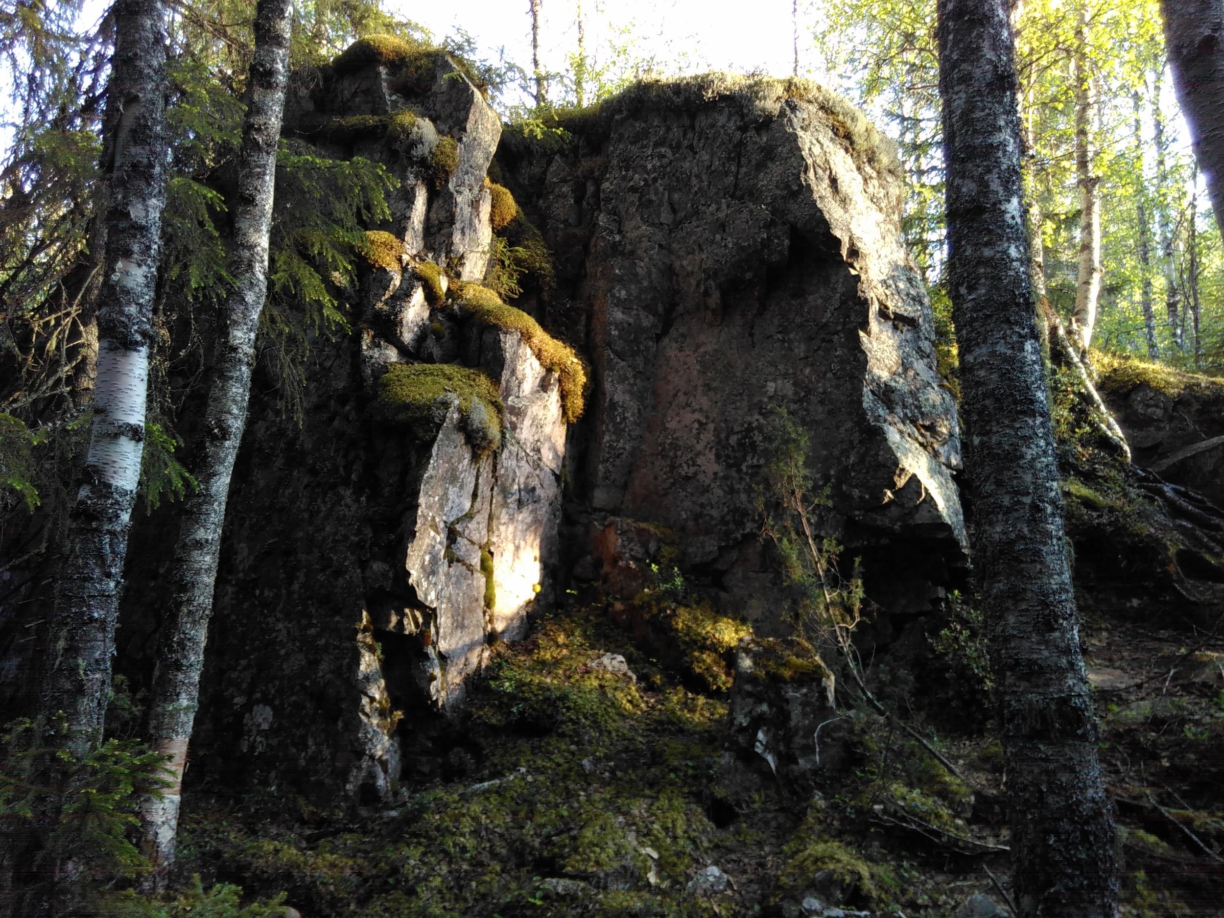 Kivimies Pirunkirkolla