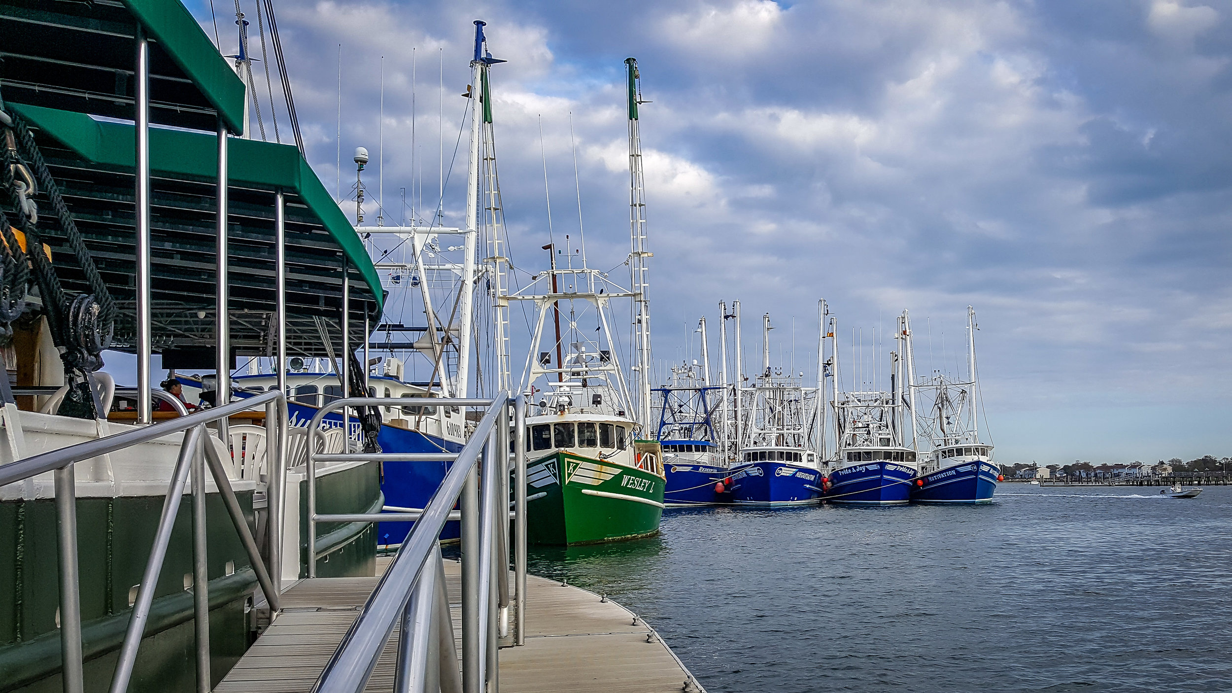 The Fishing Fleet in Cape May, NJ (Photo By Diane Edge)
