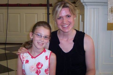 - Rose with Eclectic Music director Casey von Neumann after an Eclectic Music recital back in 2007.