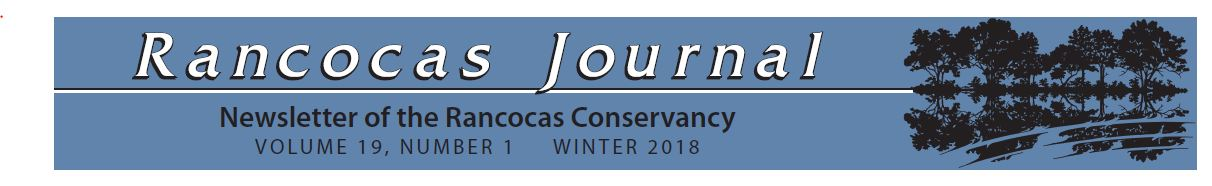 Click Here to get the latest news from Rancocas Conservancy