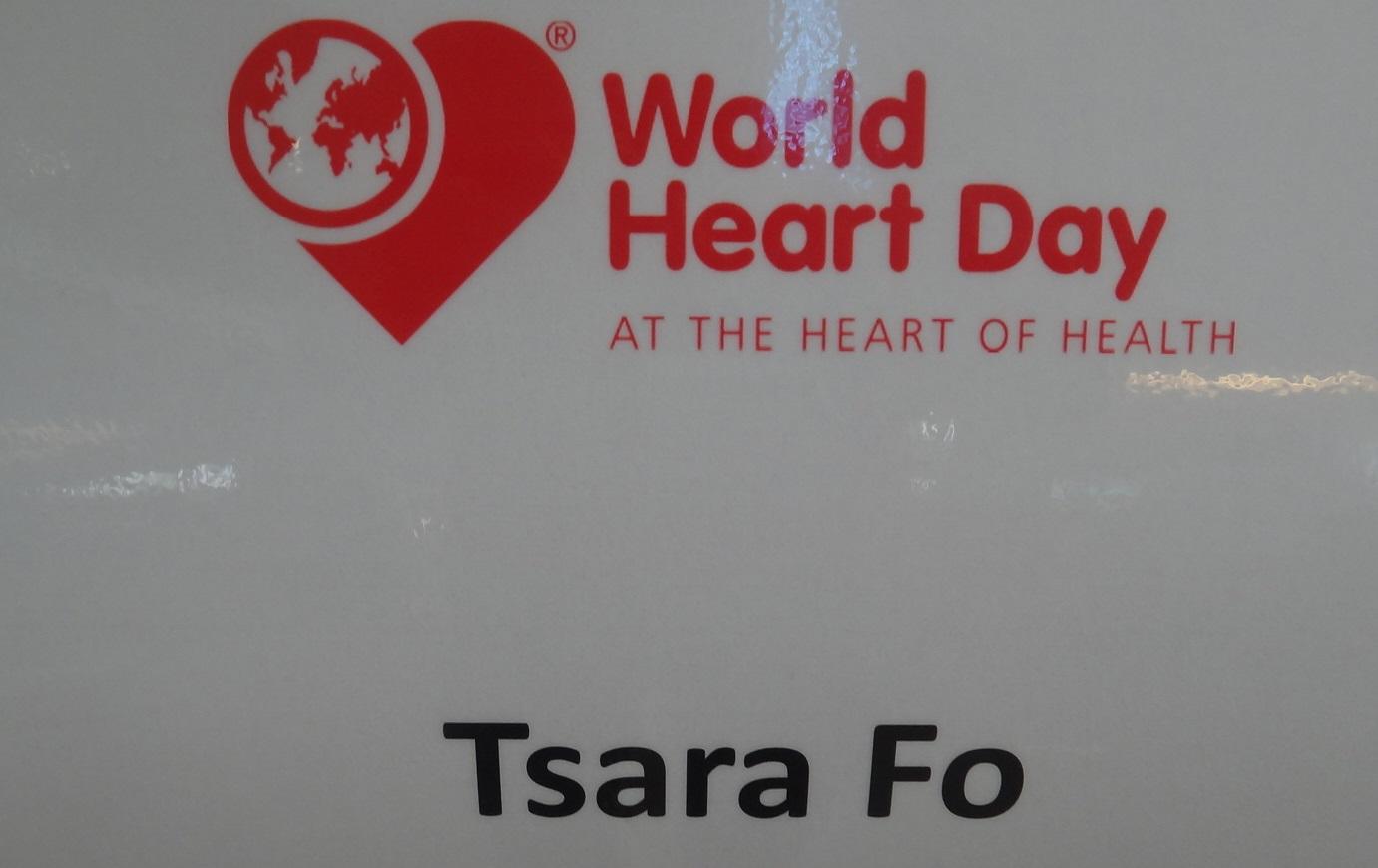 World Heart Day 29.09.2016 à l'hôpital Robert Schuman Kirchberg