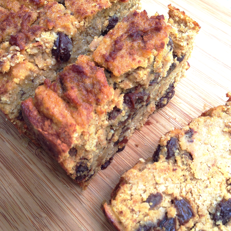Melt-in-your-mouth cinnamon raisin butternut squash bread - gluten-free, sugar-free, dairy-free, delicious! | Bellini Bootcamp