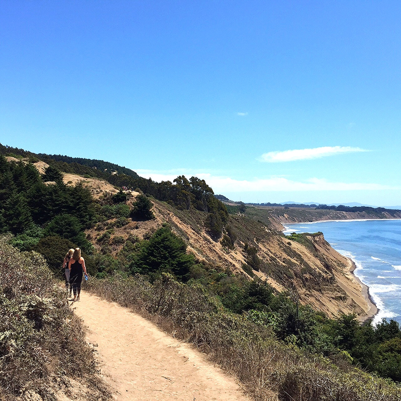A sunny summer hike with my girlfriends to Alamere Falls in Marin