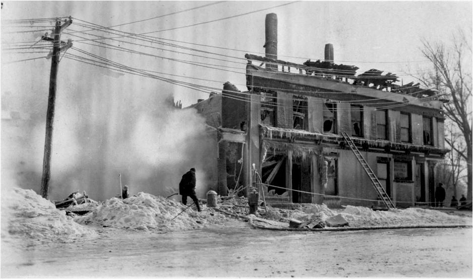 Center Street Fire, 1918