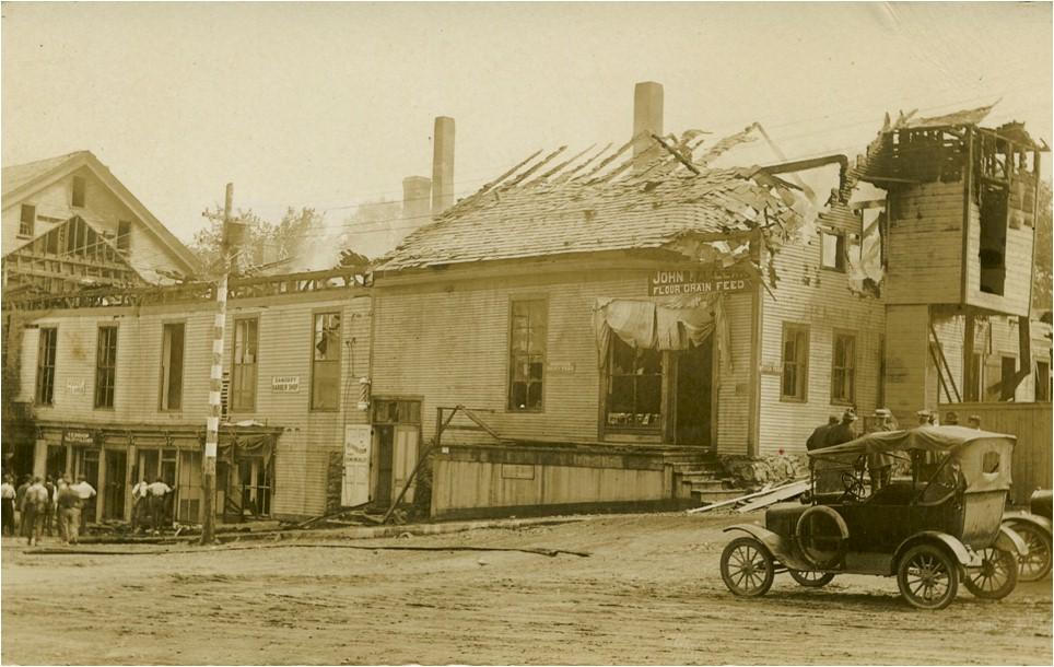 Center Street Fire, 1922