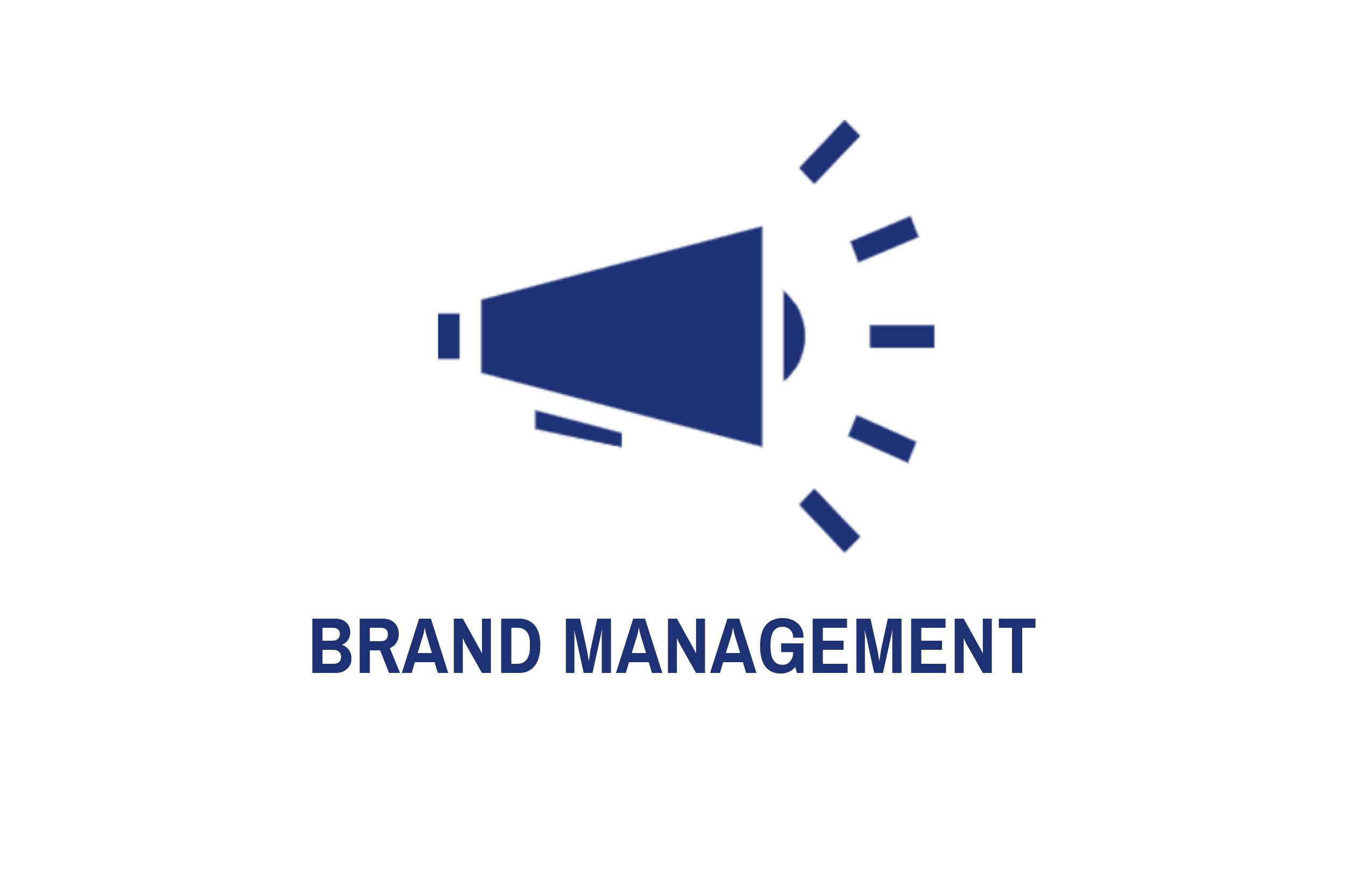 Brand management, eller varumärkeshantering, handlar om att styra, upprätthålla och förbättra ditt företags varumärke. Ett starkt varumärke ger lägre priskänslighet, stoltare medarbetare och fler återkommande kunder. Vi hjälper dig därför med  employer branding  såväl som  corporate branding . Detta genom tjänster som  varumärkespositionering ,  storytelling ,  lansering ,  målgruppsanalys , samt  event-  och  influencer marketing .   Denna typ av projekt utförs oftast ihop med affärsbenet     management    .