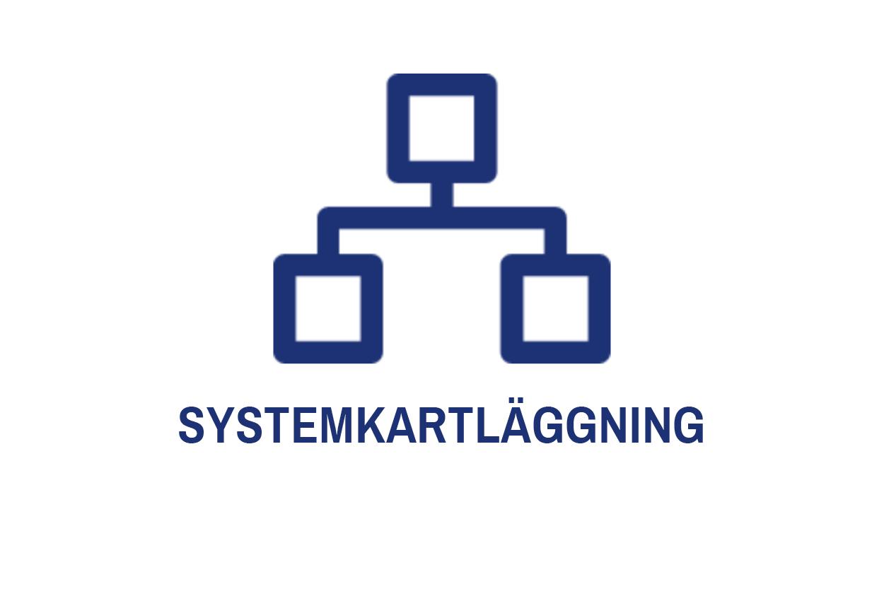 Ett kartläggningsprojekt innebär en kartläggning av ett företags IT-system och processer. Många gånger har företag fler system än de behöver, eller onödiga manuella moment som går att automatisera. Genom att identifiera vilka system som kan avlägsnas och hur dina system kan centraliseras till största möjliga mån, sparar ditt företag in på onödiga kostnader och manuell arbetstid. Vi hjälper dig gärna att göra denna så kallade  systemkartläggning .   Denna typ av projekt utförs oftast i tvärvetenskapliga team ihop med affärsbenet     management    .