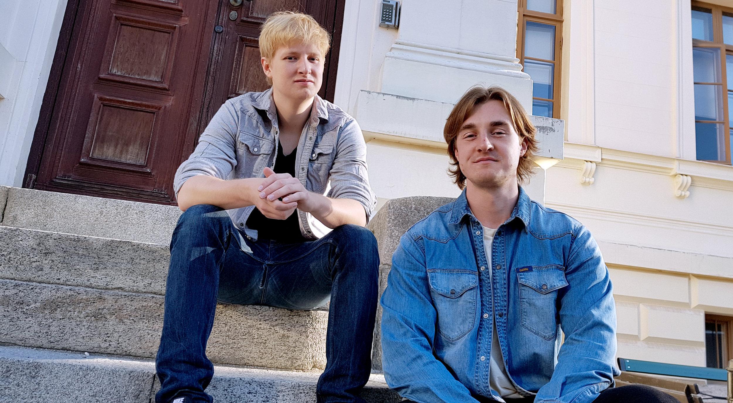 Arne Stenkrona och Alexander Pettersson