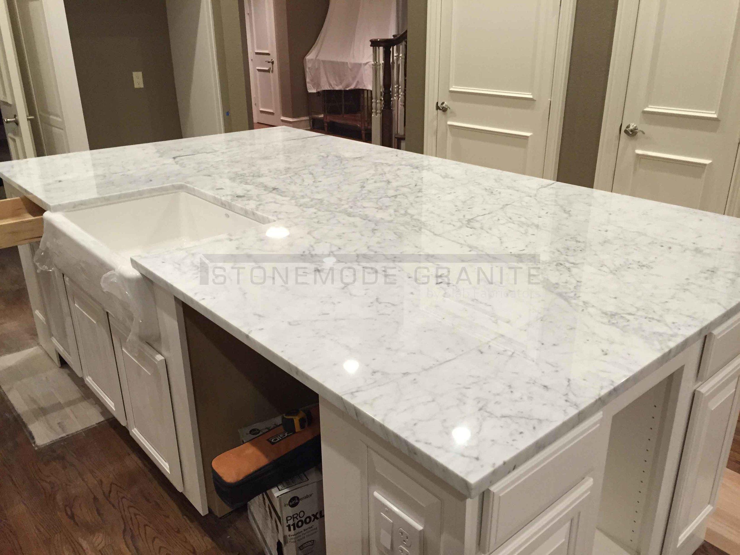 Carrera Marble Countertops