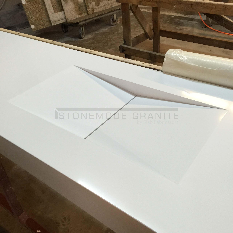 Custom Quartz Sink