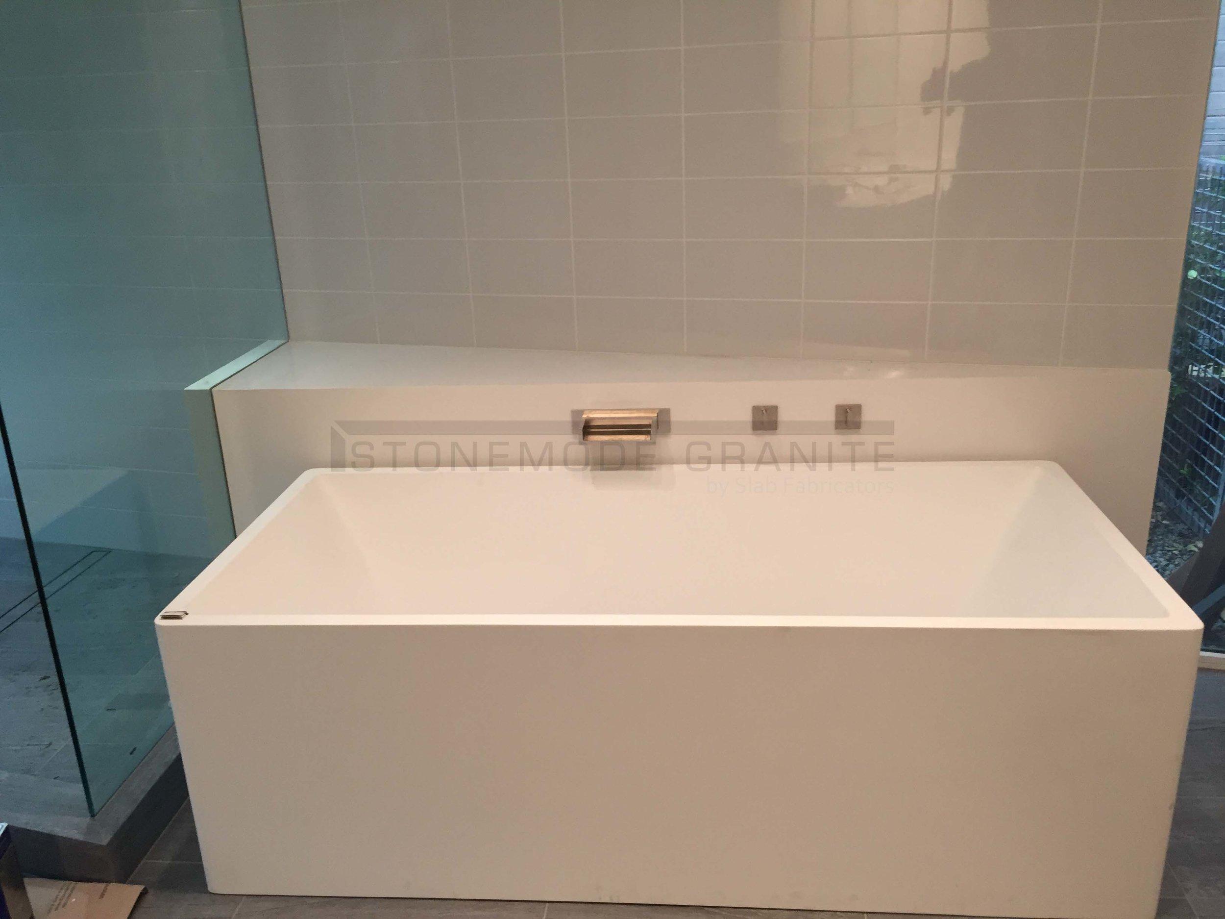 Custom Tub Deck