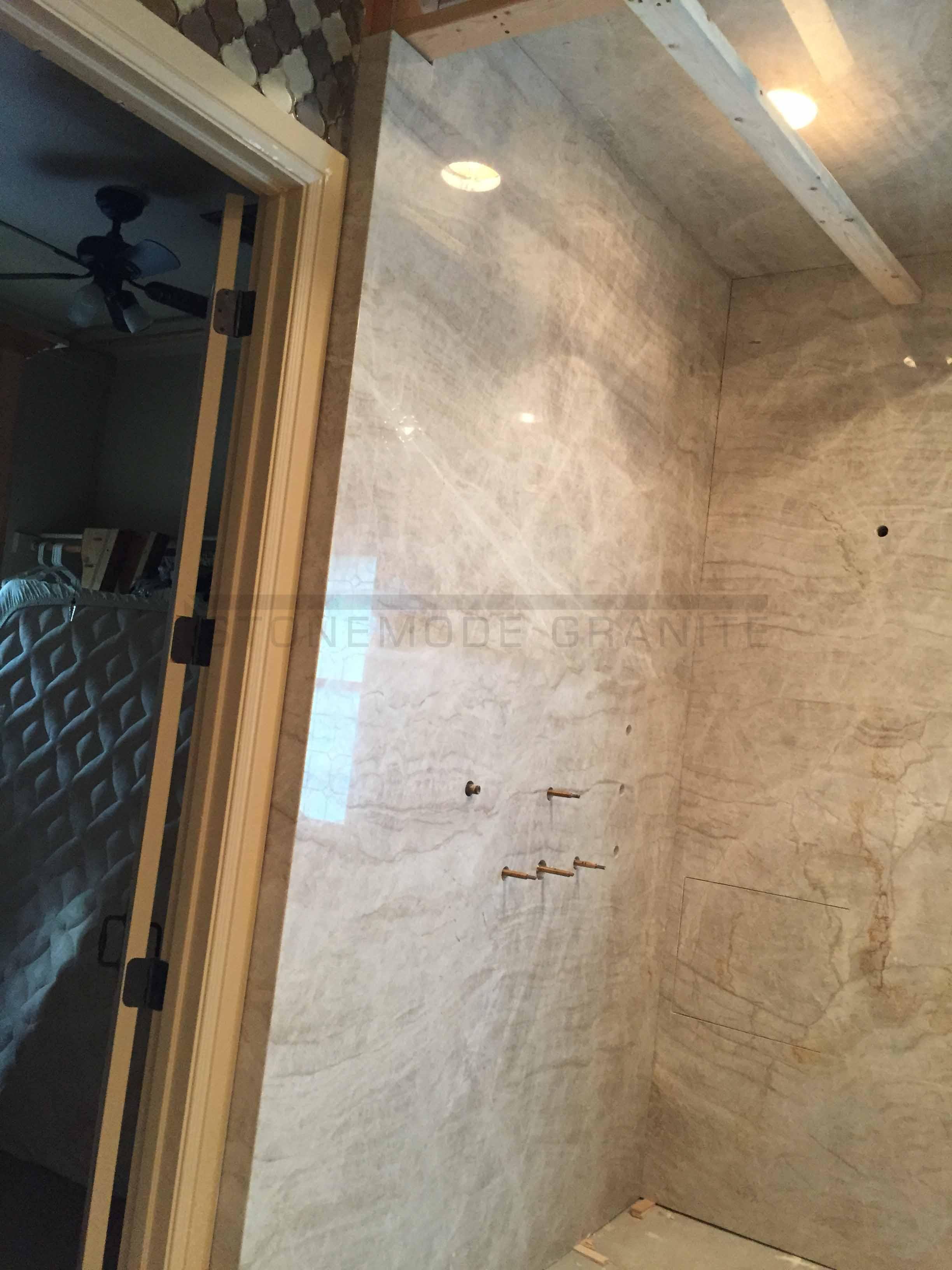 Stone Shower Walls