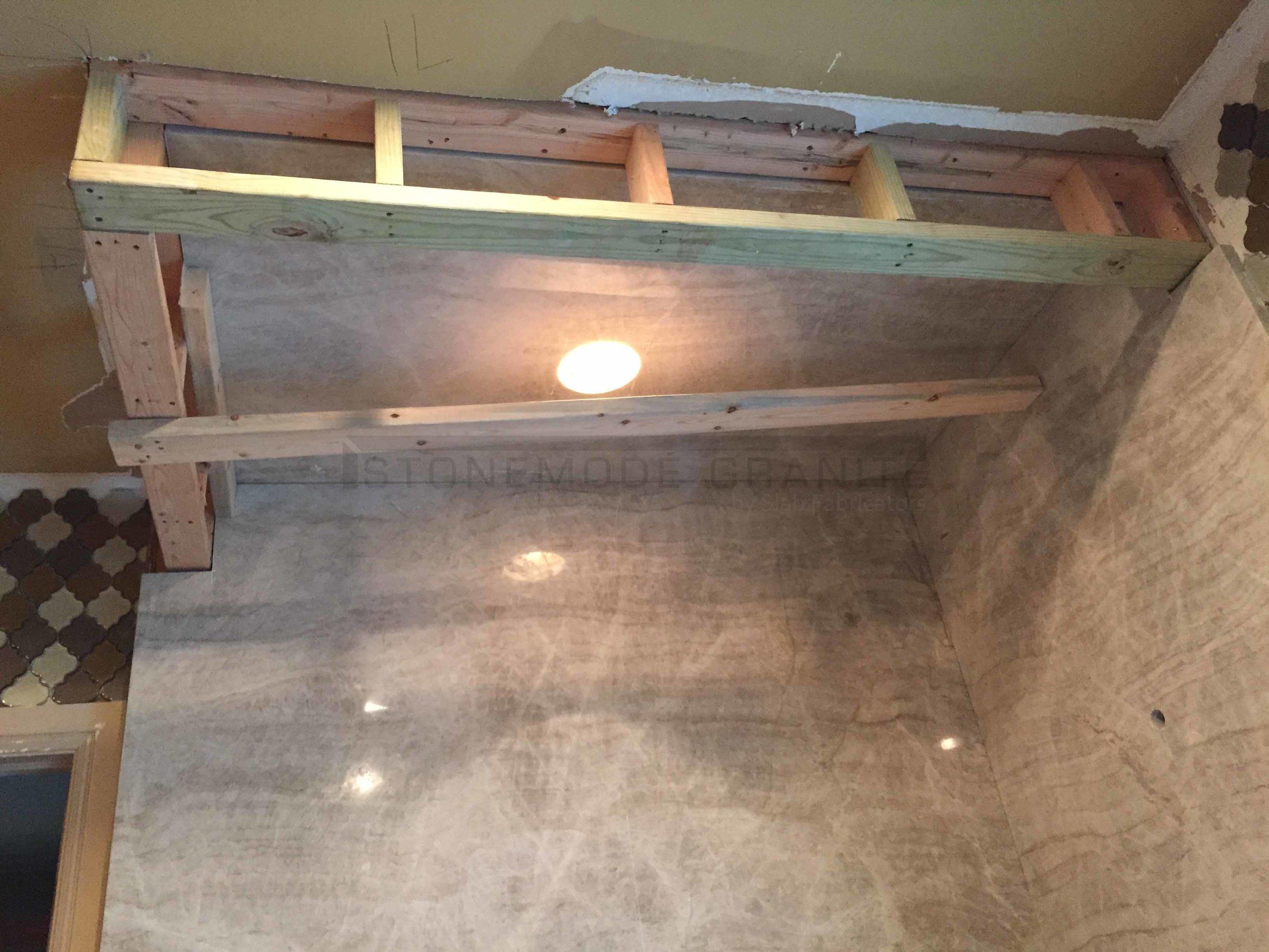 Quartzite Shower