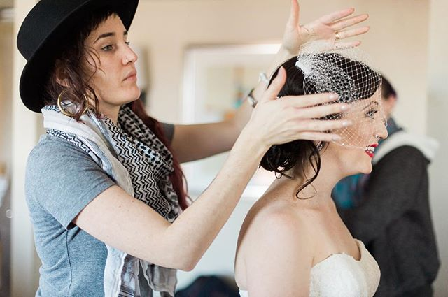 Doing hair is not just me providing a service, it is an energy exchange.  It is so very important to me that my clients feel they are in good hands. (Quite literally!) I take my work very seriously, and care deeply about the way I make each client feel when they leave my chair.  In this industry, sometimes you don't even have to lay hands on someone to gain their trust, or to make them happy. ✨🙌🏼✨ I'm looking forward to more hair magic in 2019, and more of these beautiful opportunities to help people feel like the best version of themselves! ♥️ So much gratitude to all those who gave me their trust.  It's truly an honor.  Here's to another incredible year of hair love in the books!🥳🥂🤗🙏🏼🎆 . . . #bostonhairstylist #weddinghair #bridalhair #bridalhairstylist #weddinghairstylist #bostonhair #hairlove #sarahmillerhair #gratefulheart #happyhairstylist #birdcageveil #bostonbride #bridal #weddingprep