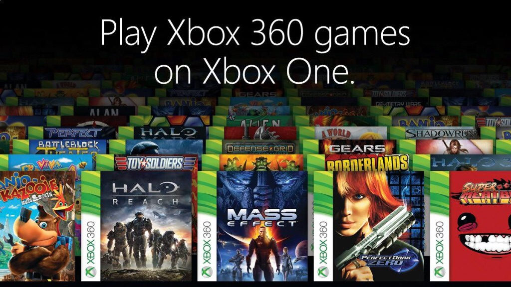 There's a solid 9 years of games coming to Xbox One.